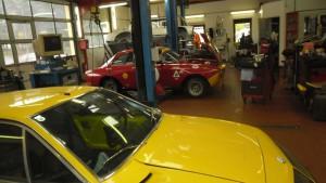 Restauration Alfa Rome GT Kantenhaube