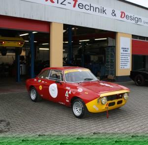 Alfa Romeo Kantenhaube