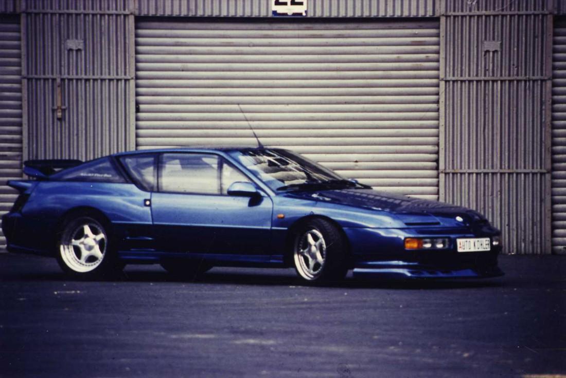 Alpine A610 Turbo Seitenansicht