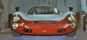 Porsche 910 Frontansicht