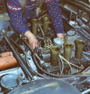 Boxermotor Porsche 910