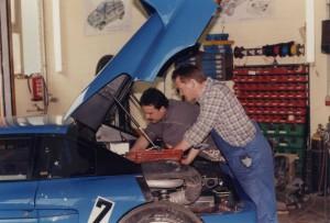 Venturi LM 400 Motorraum