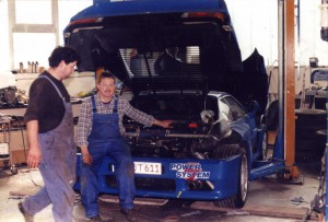 Restauration Venturi LM 400
