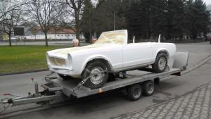 Restaurieren eines Mercedes Pagode