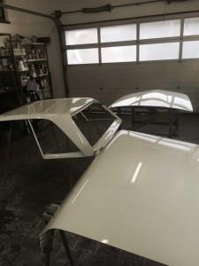 Restauriertetes Hardtop Mercedes W113