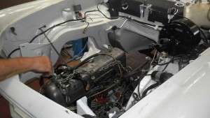 Motorinstandsetzung Mercedes W113 Pagode