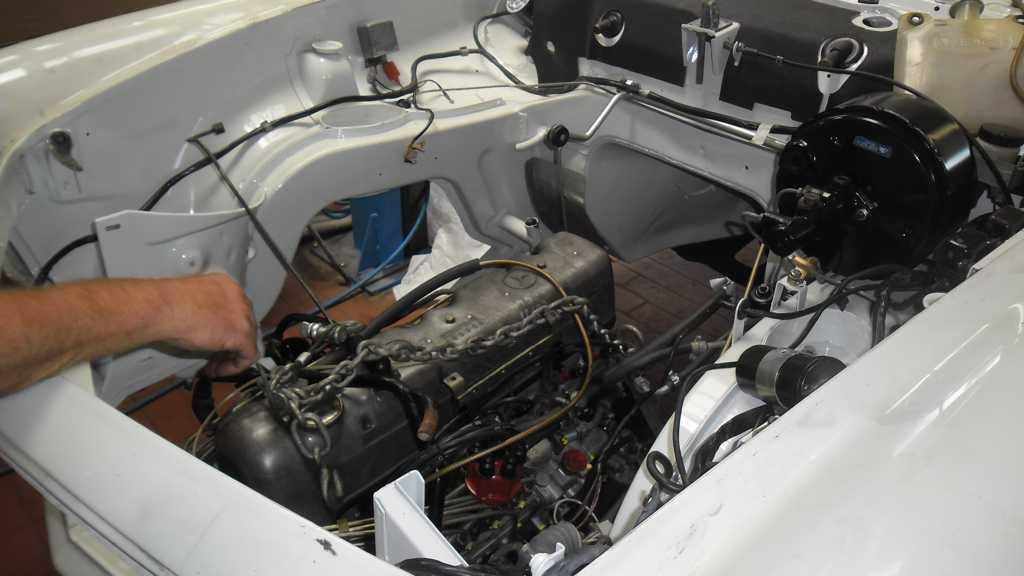 Restaurierter Motor Mercedes W113 K 246 Hler Kfz Technik Gmbh