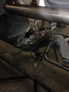 Restauration W113 Mercedes Thermo-Ruptur-Verfahren