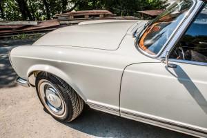 Mercedes W113 Seitenansicht