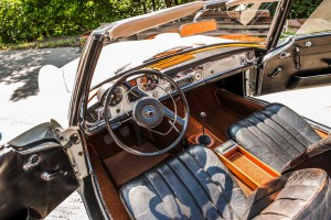 W113 Mercedes Innenausstattung