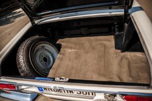 Kofferraum eines W113 Mercedes