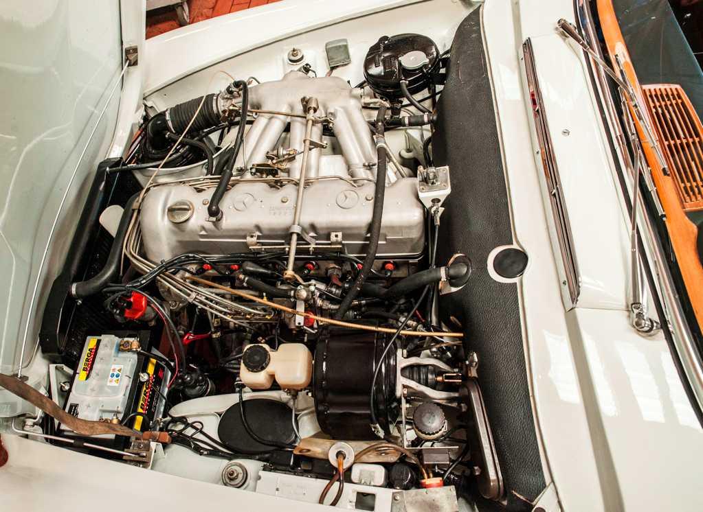 Motor Mercedes Sl