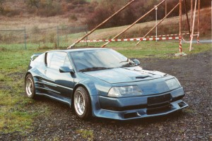 Alpine V6 Turbo Koehler Umbau