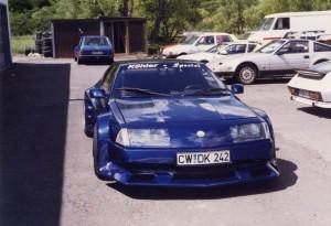 Alpine V6 Turbo getunt