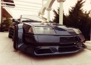 Alpine V6 Turbo mit Spoiler Kit