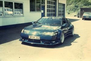 Alpine V6 Turbo blau